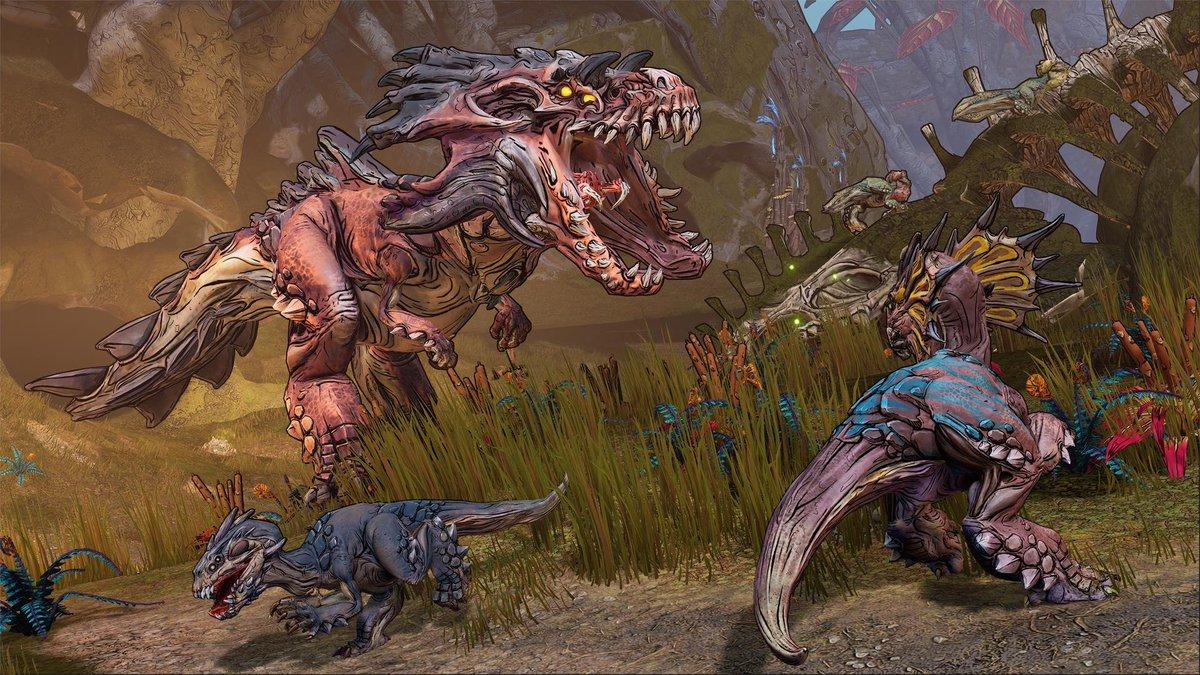 Borderlands 3 creatures