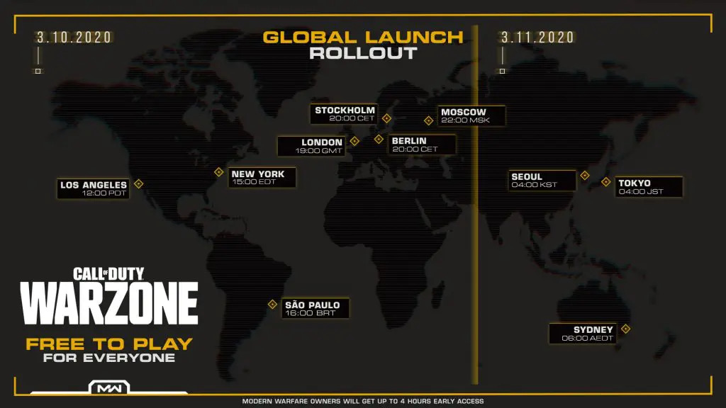 Free To Play Call Of Duty Battle Royale, Warzone Coming Tomorrow