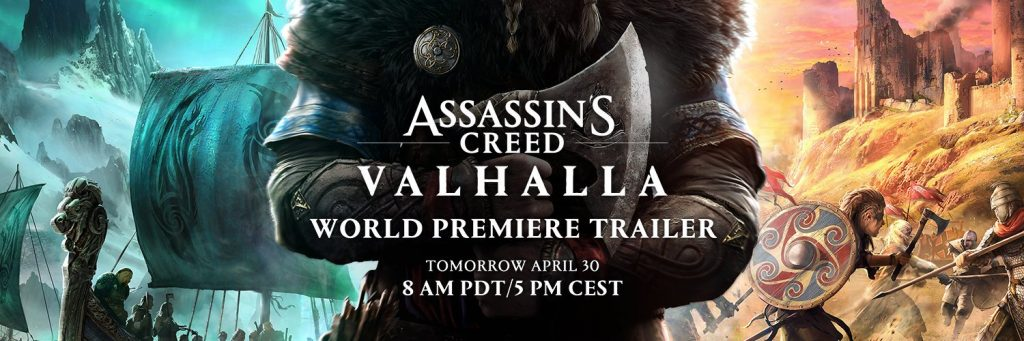 The Next Assassin's Creed Has Been Revealed; World Premier Launches Tomorrow