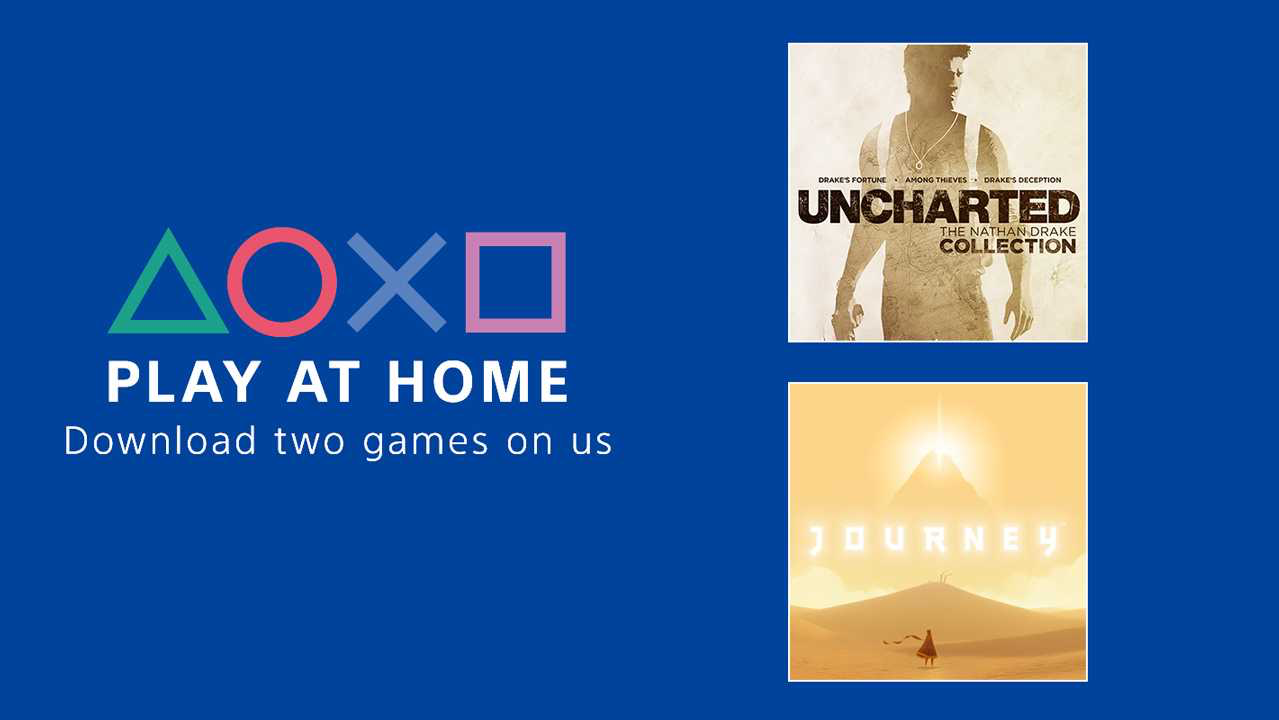 Sony is Giving Away Two Games As a Thanks to Those Practicing Social Distancing