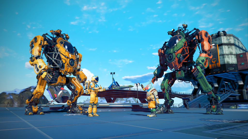 No Man's Sky Update Includes the Addition of Mech Suits