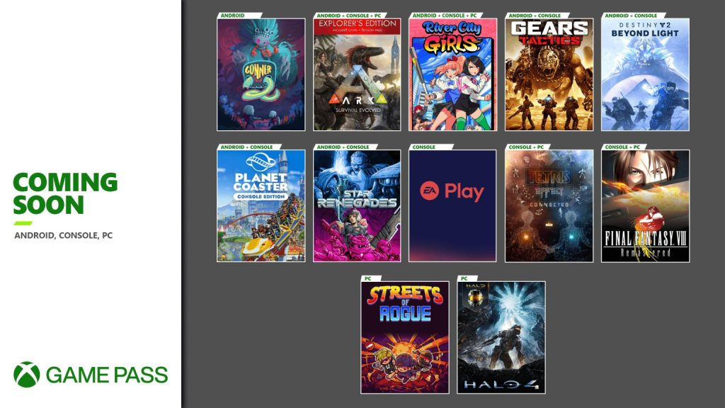 More Titles Coming to Xbox Game Pass Soon, As Well As EA Play