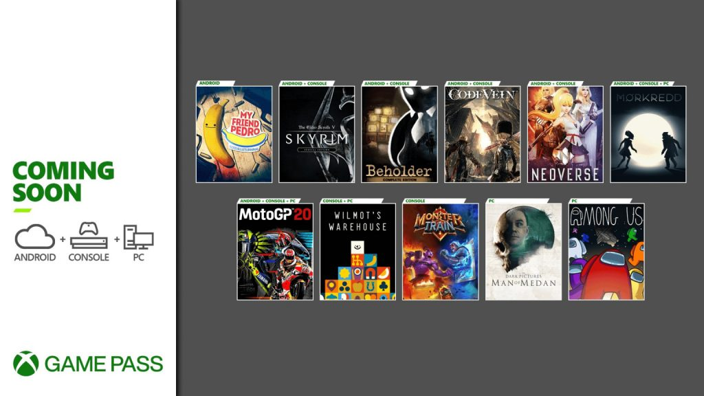 More Games Making Their Way to Xbox Game Pass Soon